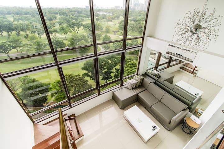 An Amazing View Loft-Style Living@Bel3 BGC (BEL6I)