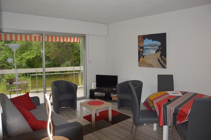 Biarritz - T2 Terrasse - Piscine - Salle de sports