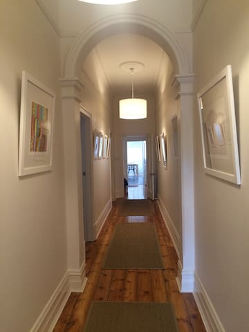 The house is full of original art from local Adelaide artist.