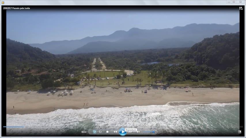 São Sebastião, Praia da Juréia Exuberante Natureza
