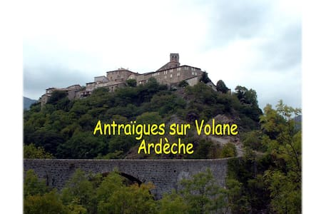 Gite Ardéche - Antraigues-sur-Volane - House - 1