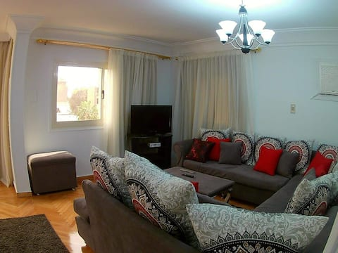 Sunny  duplex apartment  in a green area for rent
