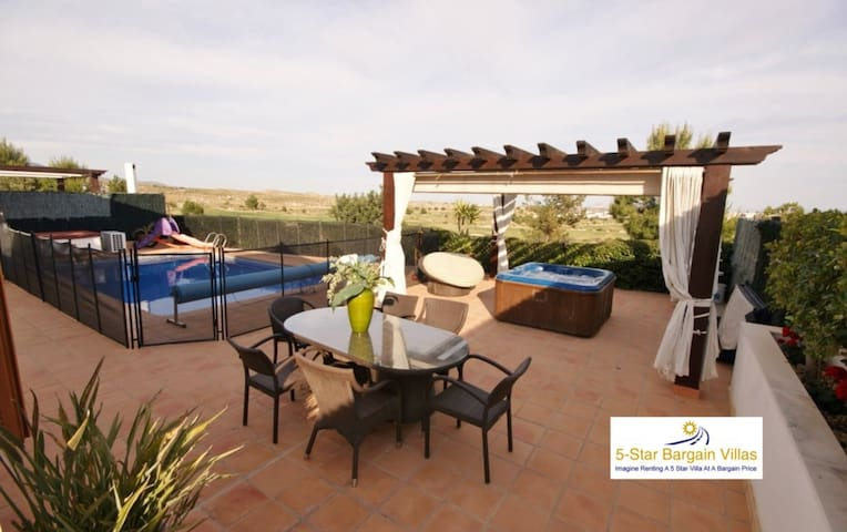 Villa Cleopatra, El Valle Golf resort Murcia Spain - Murcia  - House