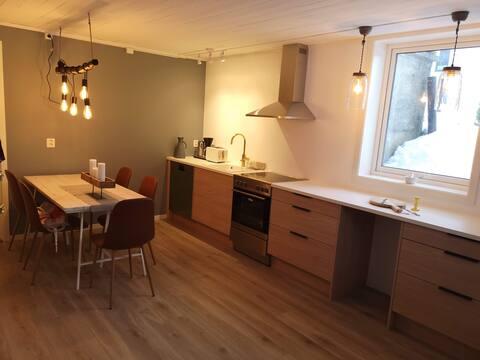 Stress Less Åndalsnes, foten av Romsdalseggen