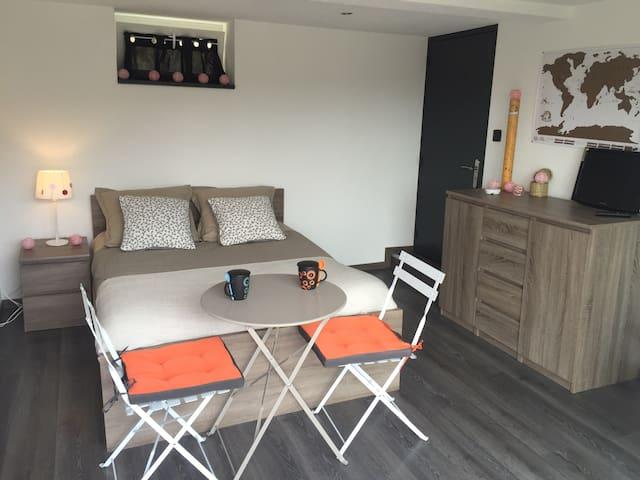 Belle chambre au calme - Ribeauville - Haus
