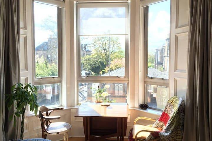 Large private room in beautiful flat - Edinburgh - Apartment