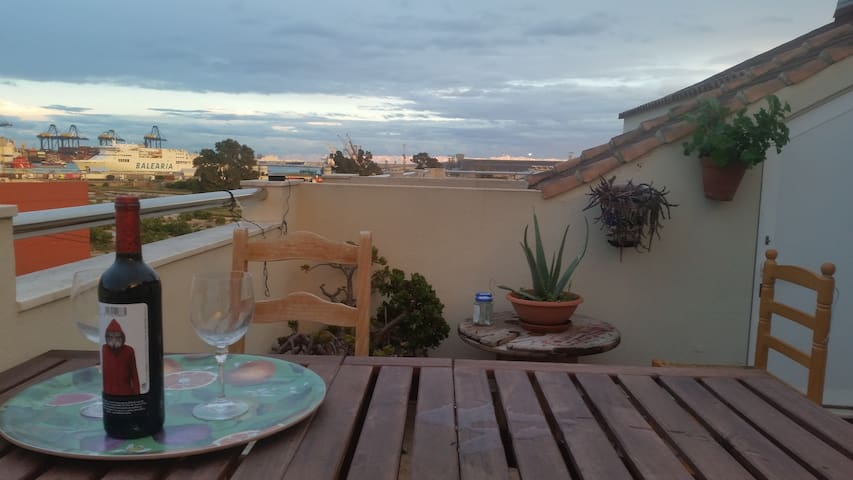 Valencian Home with a view