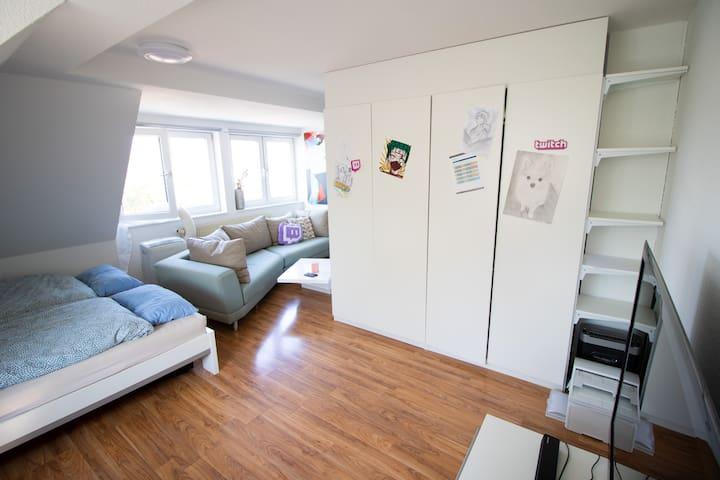 Apartment am Grüngürtel Kölns | Internet, Klima,..