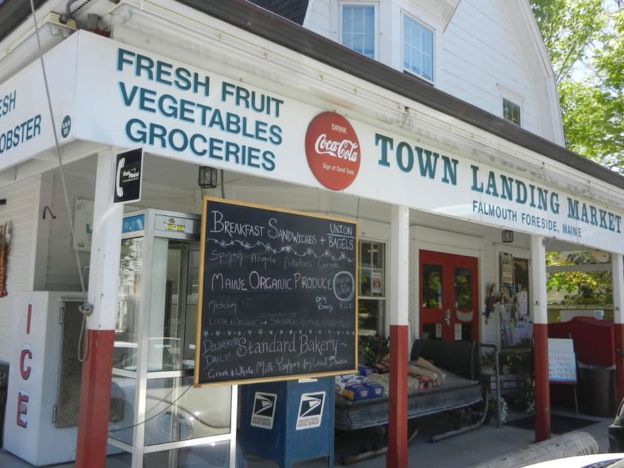 next door to the market - which is open daily for everyday sundries and delicious local fare and imported wines
