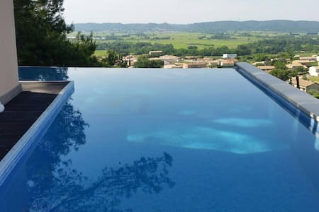 In provence, luxury private villa - Laudun-l'Ardoise - Вилла