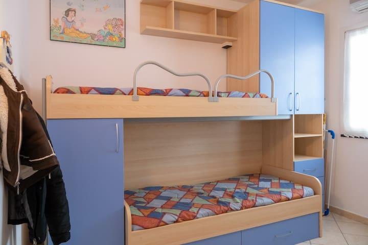 Camera con terzo letto estraibile