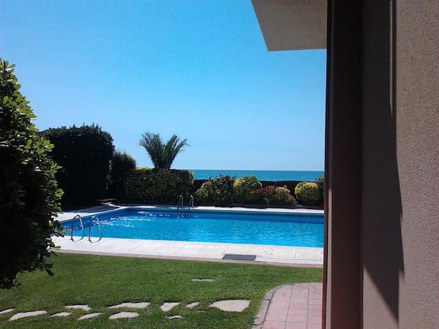 Apartamento 1ª linea de mar piscina - Sant Andreu de Llavaneres - Pis