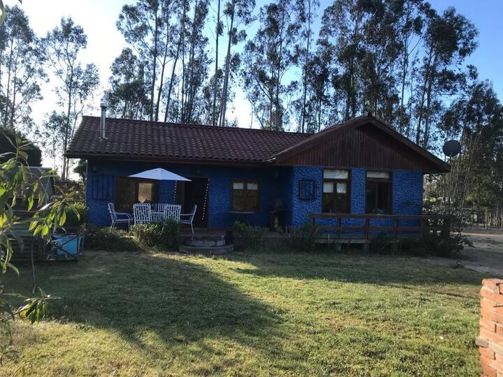 Casa Parcela en Algarrobo: campo, playa, relax.