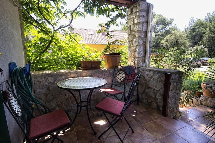 Studio flat with terrace Artatore (Lošinj) (AS-8091-a)