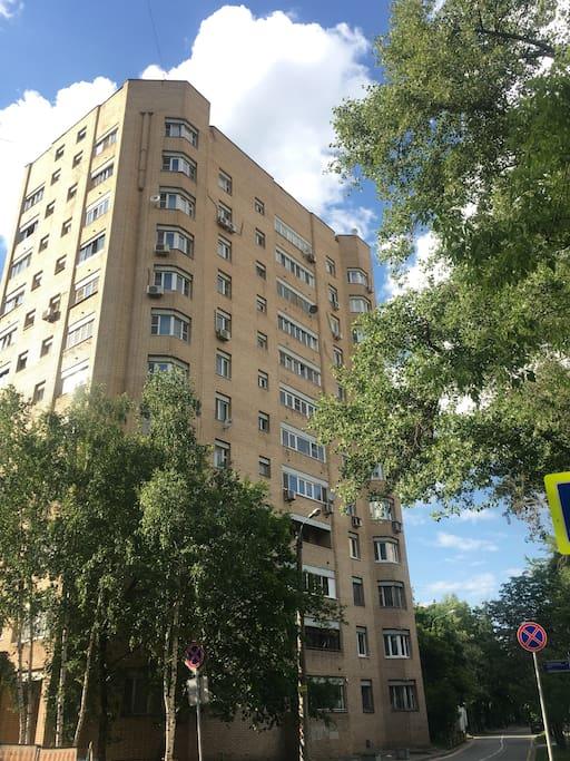 Кирпичный дом в 5 км от Кремля