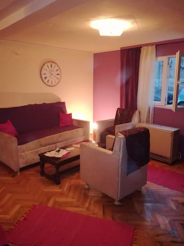 Cozy purple apartment near city center