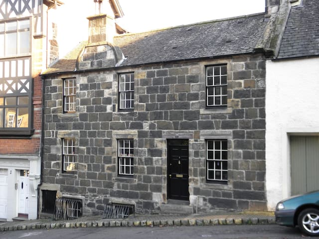 Town centre traditional house