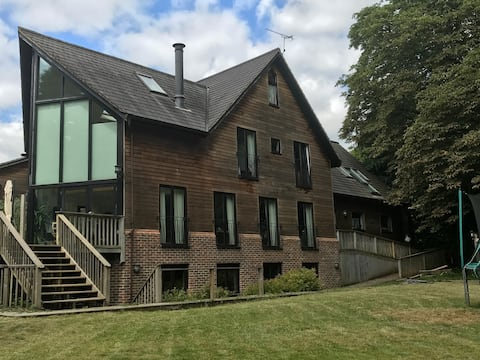 Copper Beech, a luxury, secluded two bed apartment