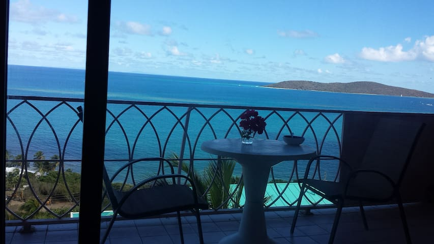 Coakley Bay Condo with an Amazing View - Christiansted - Kondominium