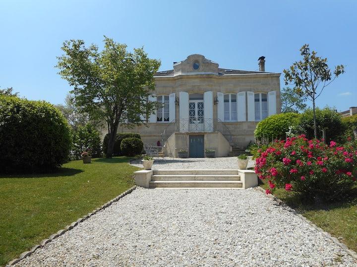 chambre d'hôtes Girondine au cœur des vignes