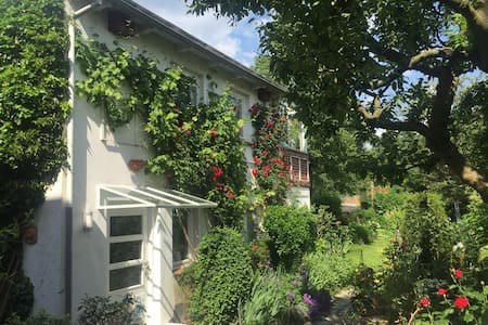 Gemütliches, frisch saniertes Gartenhaus