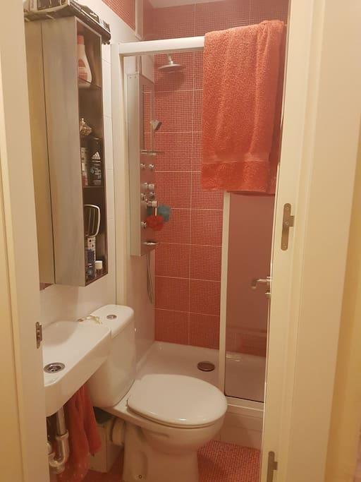 aseo privado con ducha