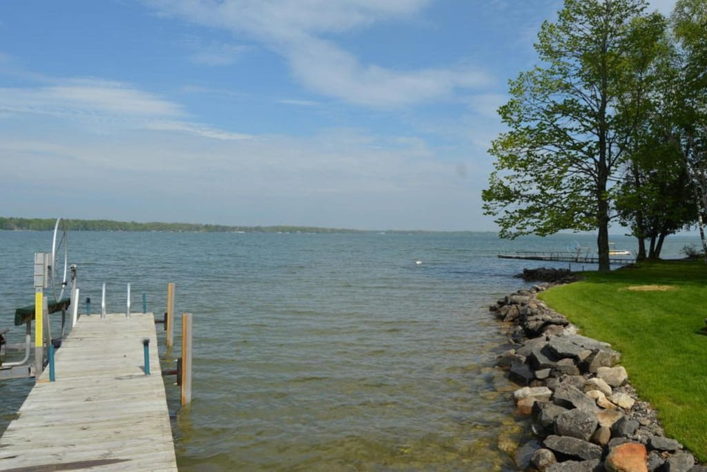 Our dock is available for guests' use.
