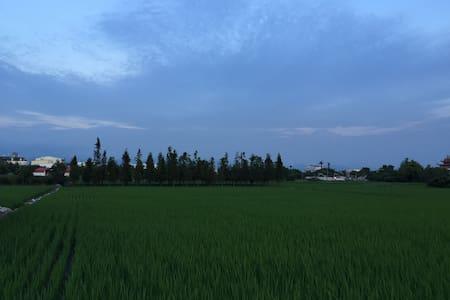 *體驗農家樂* 晚上看星星 白天看綠稻田 就在台中高鐵旁 只要十分鐘 - taichung