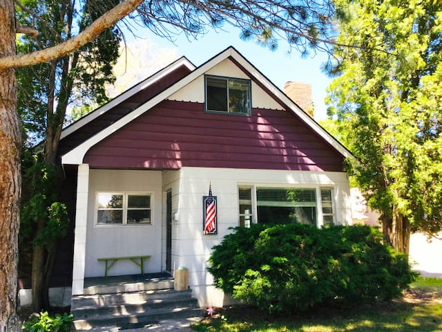 Walk or bike to downtown from our 1920 home in the historic district of Idaho Falls