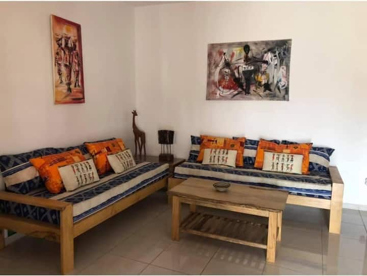 «La Maison Aziz» Petit Paradis de la Teranga