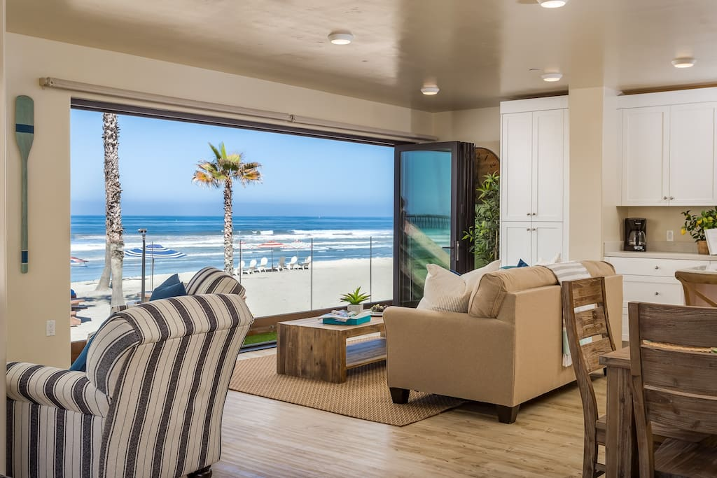 Living Room with Panoramic Doors