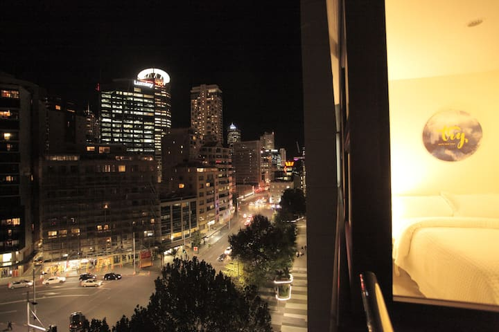 Sea View 2 bedrooms *Free Parking* *Near Skytower* - Auckland - Flat
