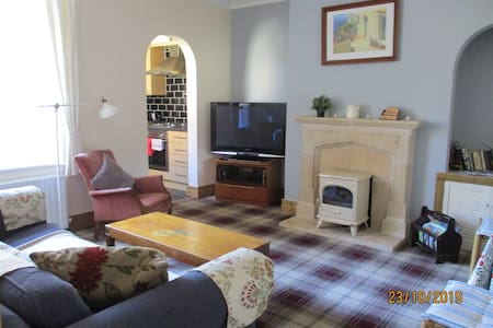 Cosy, relaxed, informal private flat. Enjoy!