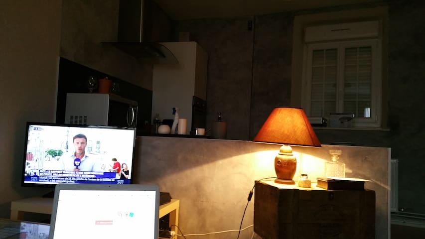 au calme dans beau petit village bourguignon - Til-Châtel - Apartment