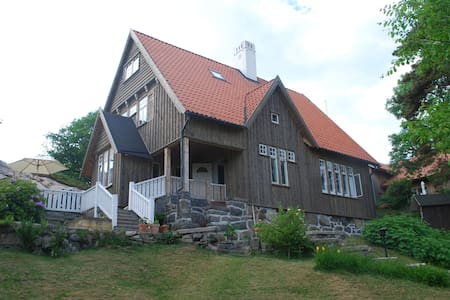 Large unique villa close to the sea in Göteborg.