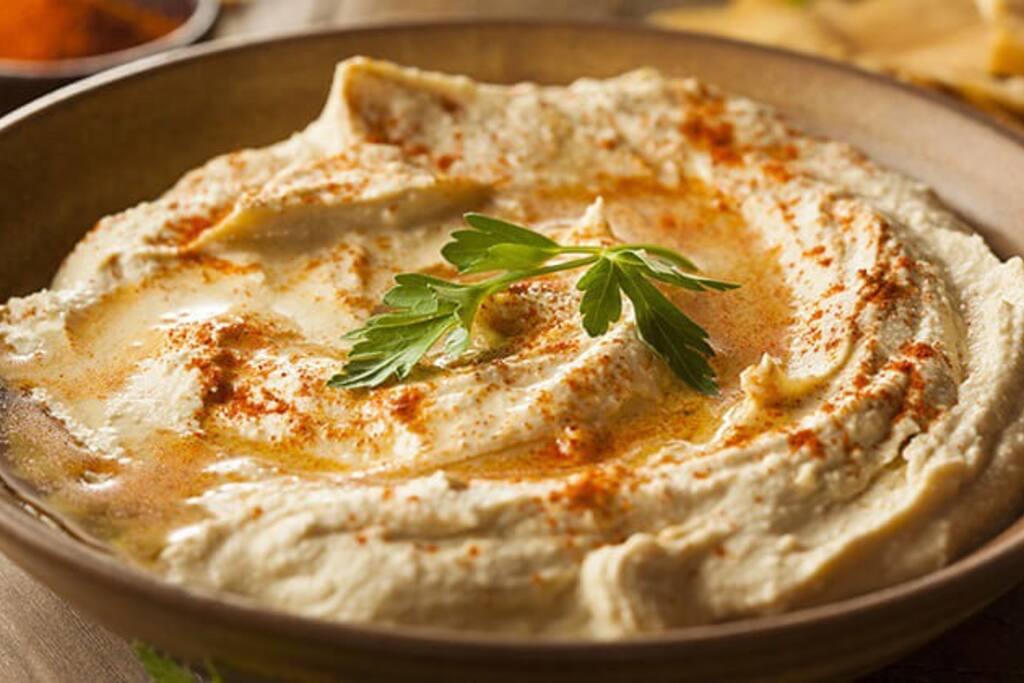 In my neighborhood you will find the best humus in Israel.