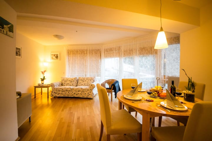APARTMENT MAROI IN THE HEART OF ST. ANTON! - Sankt Anton am Arlberg - Huoneisto