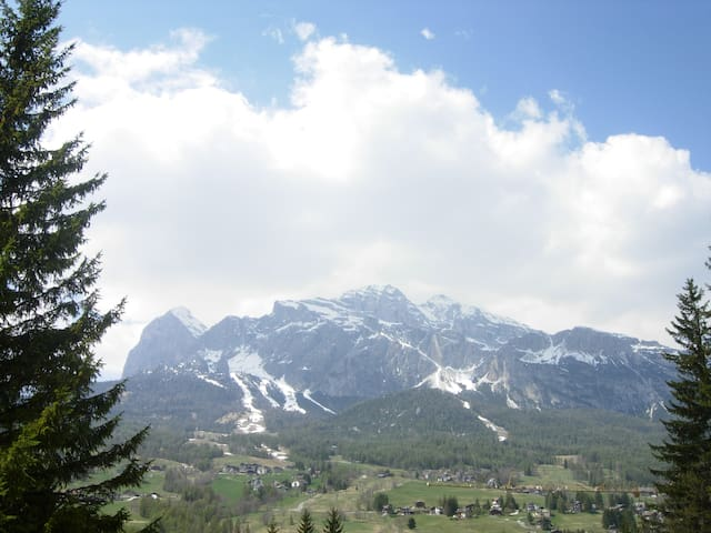 Lovely apartment with Dolomiti's view - Cortina d'Ampezzo - Apartment