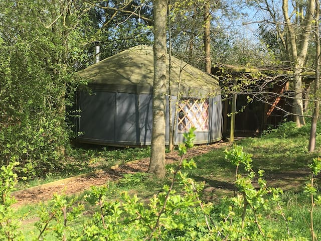Yurt Yami (Cosy and centrally heated)