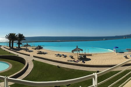 The largest Pool in the World, San Alfonso del Mar - Algarrobo