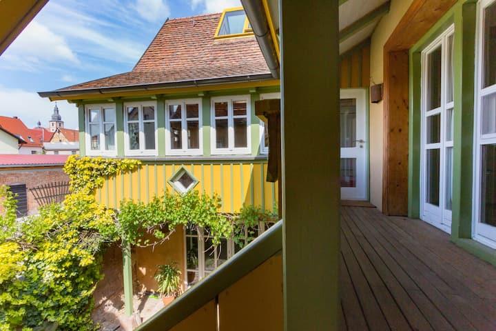 Helle, top ausgestattete Wohnung  mit Sauna
