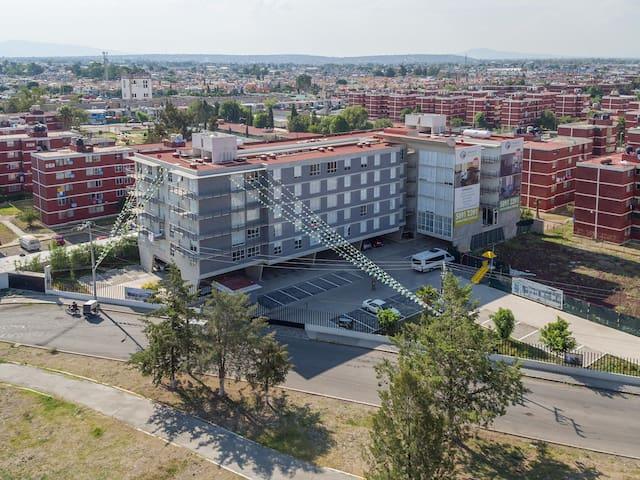 """Dpto nuevo Residencial Coacalco """"vista panorámica"""""""