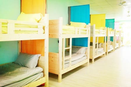 【不急。Why Hurry? Hostel 台東市區背包旅棧】Bed5 - Taitung City - Kollégium