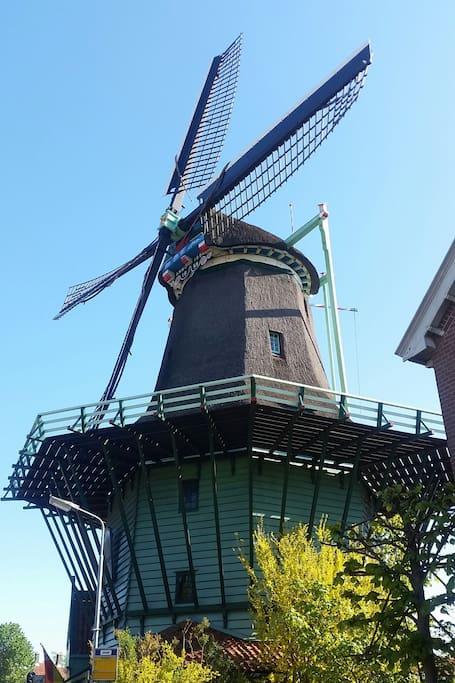 Cornmill at Zaandijk/Zaanse Schans