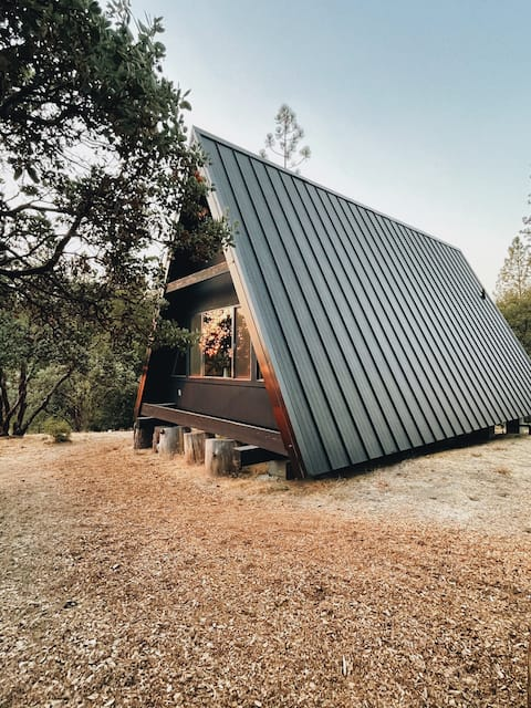 Il Winnie A-frame vicino Yosemite & Bass Lake