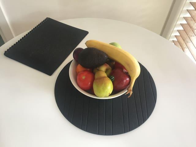 Fruit & Avocado bowl for your breakfast.
