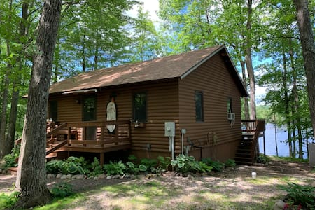 Lakefront Cabin in Birchwood, Wi
