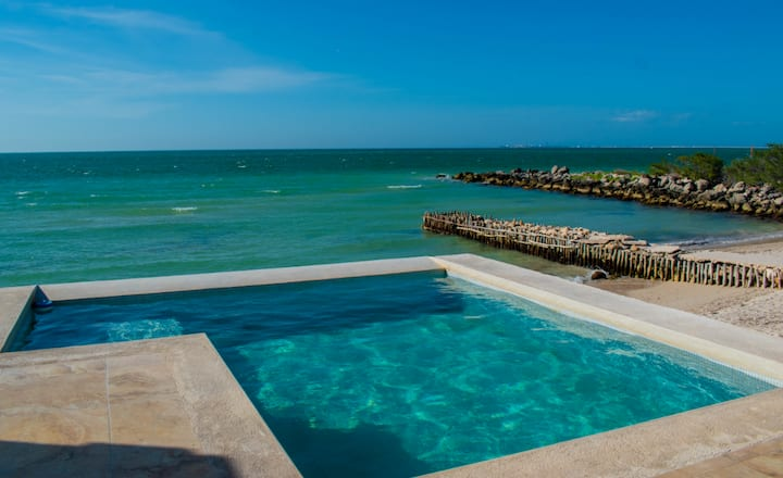 Stunning Oceanfront Home Waiting For You!