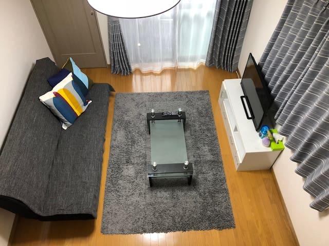 エスポアール新町Ⅲ· 熊本市中心部にあるお部屋です。FreeWi-Fiあり。熊本城まで徒歩10分