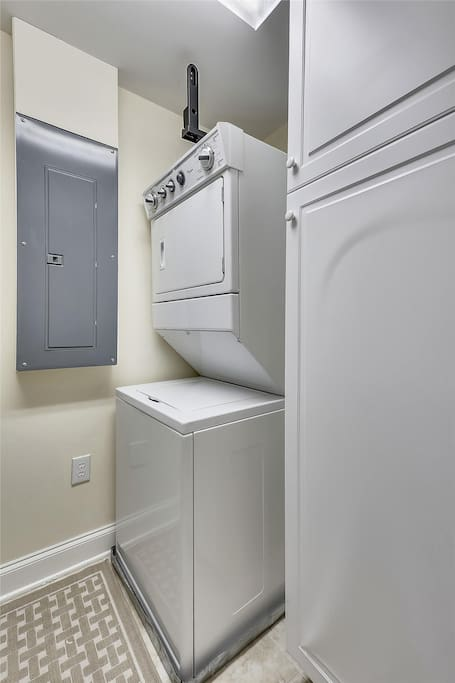 Belmont Towers 508 - Washer and Dryer